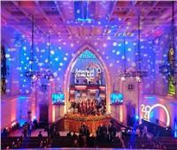 «الإنجيلية» تبدأ احتفالات عيد الميلاد بالترانيم ومشاهد من ثورة يناير