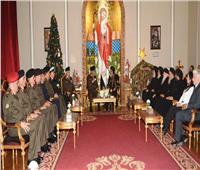فيديو| القائد العام للقوات المسلحة يهنئ البابا تواضروس الثاني بعيد الميلاد