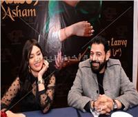 صور| المغربية أسما لزرق تُطلق ألبومها الأول بمصر