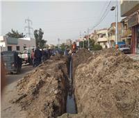 قطع المياه عن مدينة ادكو بسبب كسر في الخط الرئيسي