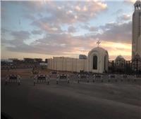 صور.. كاتدرائية ميلاد المسيح تستعد لاستقبال المصلين