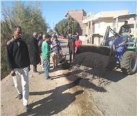 تحرير 315 مخالفة خلال حملة لرفع الإشغالات في ملوي بالمنيا