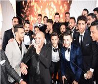 صور| نجوم الكرة المصرية يحتفلون بزفاف أحمد الشيخ