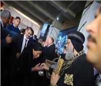 البابا تواضروس الثاني يستقبل المهنئين بعيد الميلاد المجيد بالمقر البابوي بالعباسية