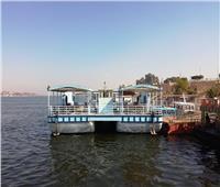 معديتان نهريتان لخدمة الأهالى ونقل السياح بين البرين الغربي والشرقي بالأقصر