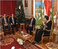 رئيس «النواب» يهنئ البابا تواضروس الثاني بعيد الميلاد