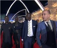 صور  لحظة وصول ساديو ماني لحفل أفضل لاعب في إفريقيا 2019