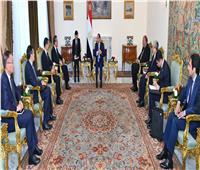 السيسي: مصر حريصة على وحدة واستقرار ليبيا ووضع حد للتدخلات الدولية غير المشروعة