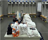 شاهد  غرفة ملابس ريال مدريد قبل السوبر الإسباني بالسعودية