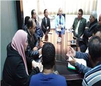 نائب محافظ القاهرة يستعجل تغيير خطوط المياه والكهرباء بشارع الحجاز
