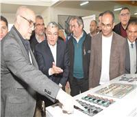 وزير الإسكان ومحافظ المنيا يتفقدان محطة مياه أبوقرقاص