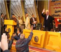 بالصور| سامح عاشور يعد بإنهاء ملف نادي محاميي الأقصر