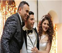 صور| الليثي ودينا يشعلان زفاف «مينا وناردين» بحضور مشاهير الإسكندرية