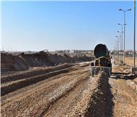 تنفيذ محور عرضي يربط القطاعين الغربي والشرقي بمدينة الشروق