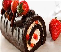 حلو اليوم.. «سويسرول الشيكولاتة»