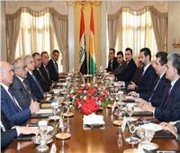 عبد المهدي وقادة إقليم كردستان يعلنون رفضهم تحويل العراق إلى ساحة للصراع الإقليمى