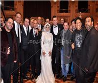 صور| مدحت صالح ومصطفى كامل وعلا رامي يحتفلون بزفاف ابن فيصل خورشيد