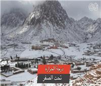 فيديو| سانت كاترين.. أجواء أوروبية علي أرض مصرية