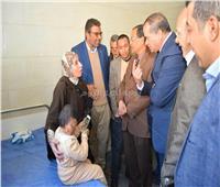صور| معجزة في مستشفى «سوهاج الجامعي».. علاج حالة نادرة لـ«مولود بعين واحدة»