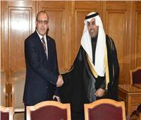 رئيس البرلمان العربي يستقبل سفير الجزائر بالقاهرة في الجامعة العربية