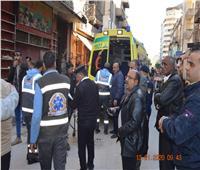 محافظة الإسكندرية يوجه بسرعة رفع أنقاض عقار العطارين المنهار