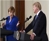 البيت الأبيض: ترامب وميركل ناقشا الأوضاع الأمنية في الشرق الأوسط وليبيا