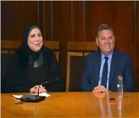 """""""توفيق"""" و""""جامع"""" يبحثان تعزيز التعاون في مبادرة """"جسور"""""""