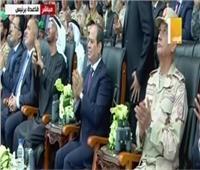 بث مباشر  الرئيس السيسي يشهد ختام مناورات قادر 2020