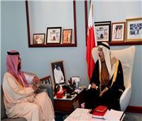 نائب رئيس مجلس الوزراء يستقبل سمو الأمير سلطان بن أحمد آل سعود