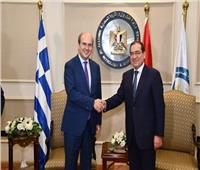 وزير الطاقة اليوناني يصل القاهرة للمشاركة بمنتدى غاز شرق المتوسط