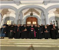 السفير البابوي يستقبل مجلس البطاركة والأساقفة الكاثوليك