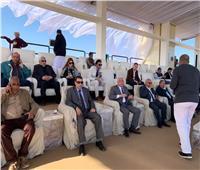 صور| وفد من وزارة الزراعة يزور سيناء لمتابعة المشروعات