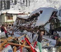 صور  مقتل 160 شخصًا نتيجة الثلوج في باكستان وكشمير