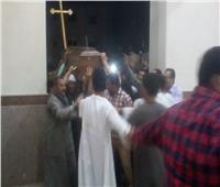 تشييع جنازة «طبيبة المنيا» من كنيسة السيدة العذراء