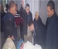 نائب محافظ القاهرة يزور مصابي بلكونة منزل روض الفرج