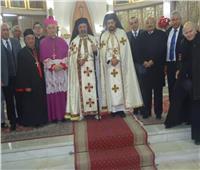 البطريرك الأنبا إبراهيم يحتفل بالقداس الألهي مع كاريتاس مصر