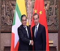 الصين وميانمار تؤكدان أهمية تعزيز العلاقات الثنائية وبناء مجتمع مصير مشترك