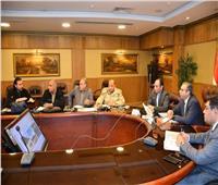 نائب محافظ الغربية يستعرض نسب تنفيذ مشروعات تطوير ورصف الطرق