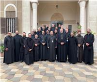 بطريرك الأقباط الكاثوليك يجتمع بكهنة الإيبارشية البطريركية