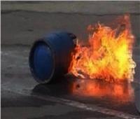 انفجار أسطوانة غاز داخل مصنع بدمنهور