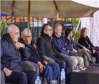 العناني يشهد بطولة الجزيرة الدولية لكرة الماء