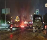 أعمال شغب واسعة في بيروت والأمن يحاول فرض سيطرته