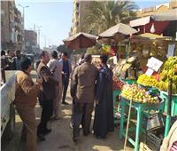 حملة مكبرة بمركز منفلوط لإعادة الانضباط للشارع بأسيوط