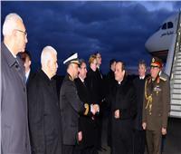 صور| لحظة صول الرئيس السيسي إلى برلين للمشاركة في مؤتمر ليبيا
