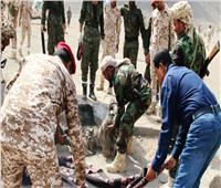 ارتفاع قتلى الهجوم الصاروخي على معسكر تدريبي في مأرب إلى 60 شخصًا