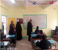 انتظام امتحانات الشهادة الإعدادية بمطروح