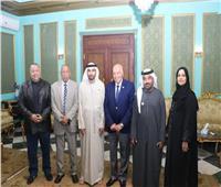 «الزناتي» يستقبل وفد جمعية المعلمين الإماراتية لتبادل الخبرات