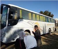 إنقاذ 48 شخصا بأتوبيس عالق في منطقة جبل الموتىبسيوة