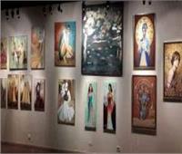 افتتاح معرض «ألوان حرة» بقاعة آدم حنين بالهناجر