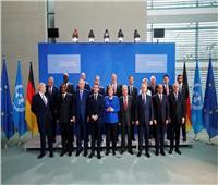 الرئيس السيسي وقادة الدول يلتقطون صورة تذكارية في مؤتمر برلين